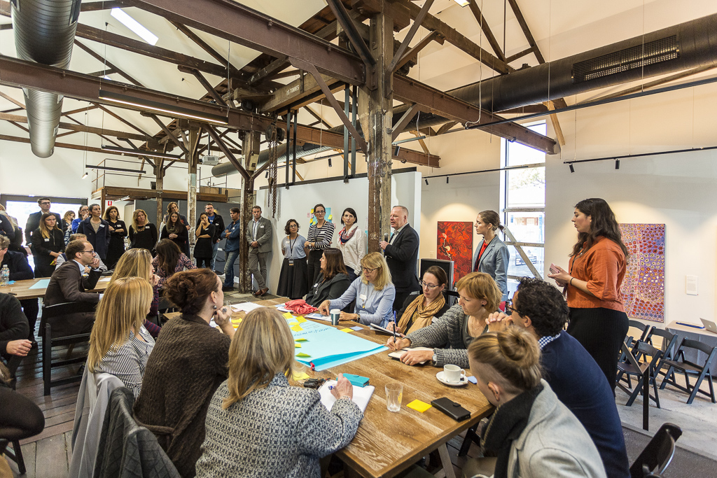 9. Creative Place-Making_ A Workshop with Tim Jones, The Goods Shed 2017. Photograph by Bewley Shaylor, courtesy of FORM