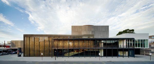 State Theatre Centre - Kerry Hill Architects. Roe Street Elevation.