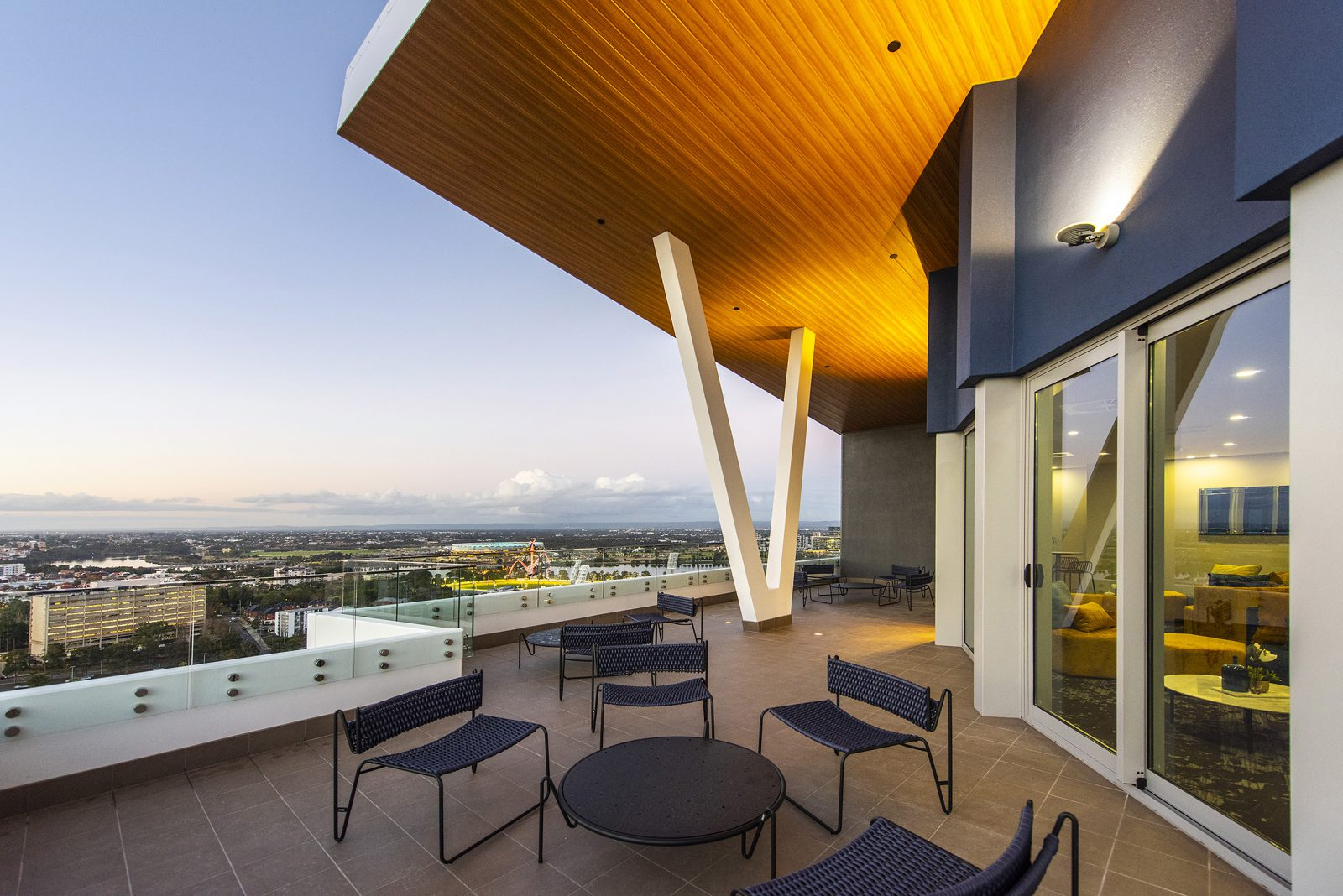 5. 63 Adelaide Terrace East Perth - Sky Lounge Deck