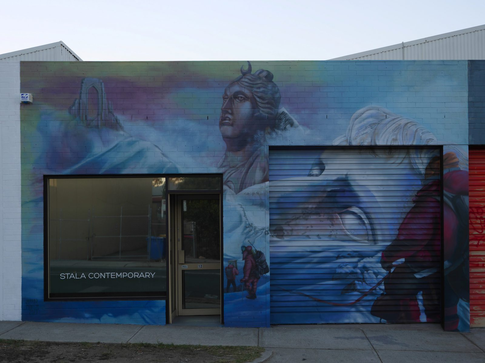 STALA CONTEMPORARY Facade with Jarrad Martyn Mural 2 - Copy